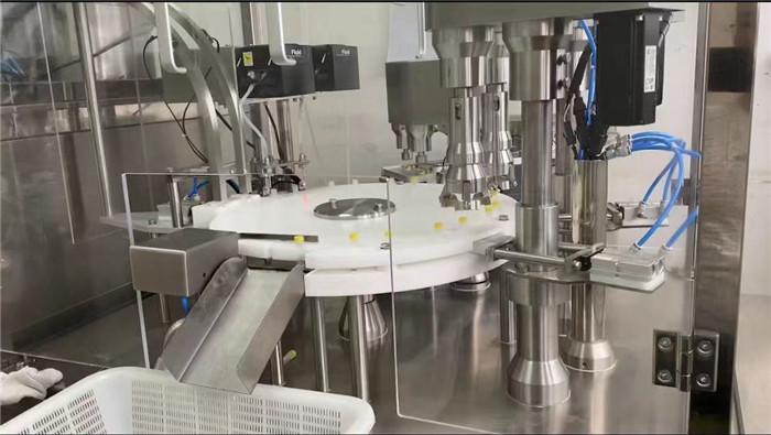 喷雾剂灌装旋盖机